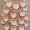 Orange Flowers and Teddies Gift Cakes