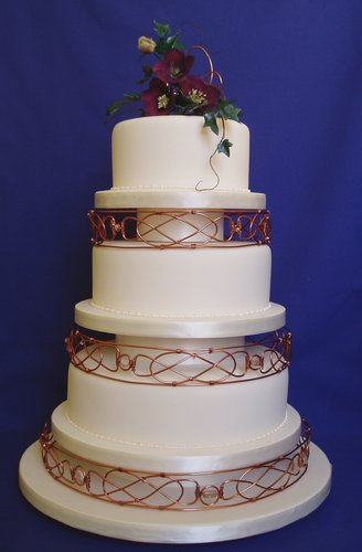 Celtic Knots Wedding Cake WOW Cakes By Wendy Broadhead