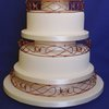 Celtic Knots Wedding Cake
